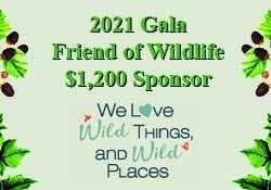$1200 Friend of Wildlife