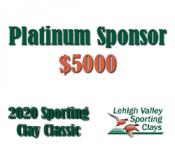 Platinum Sponsor - 2020 Lehigh Valley Sporting Clay Classic