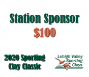 Station Sponsor - 2020 Lehigh Valley Sporting Clay Classic