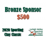 Bronze Sponsor - 2020 Lehigh Valley Sporting Clay Classic